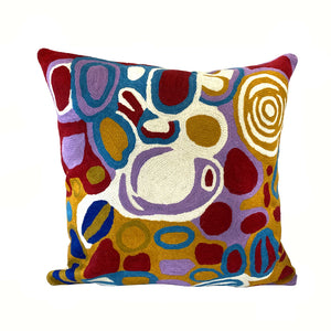 Anmanari Brown Cushion Cover