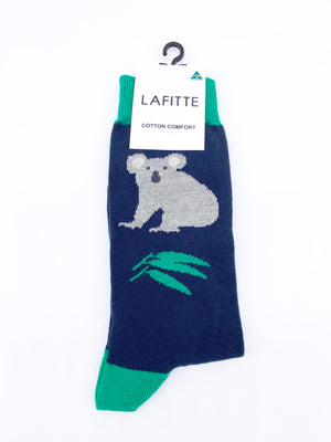 Koala Socks Navy
