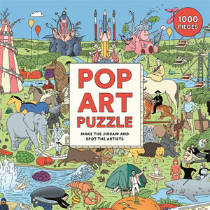 Pop Art Puzzle: Make the Jigsaw and Spot the Artists