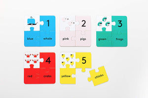Puzzle Play: Five Chunky Jigsaws to Learn and Play