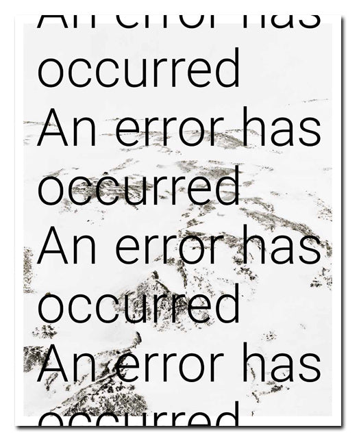 Rohan Hutchinson: An Error Has Occurred