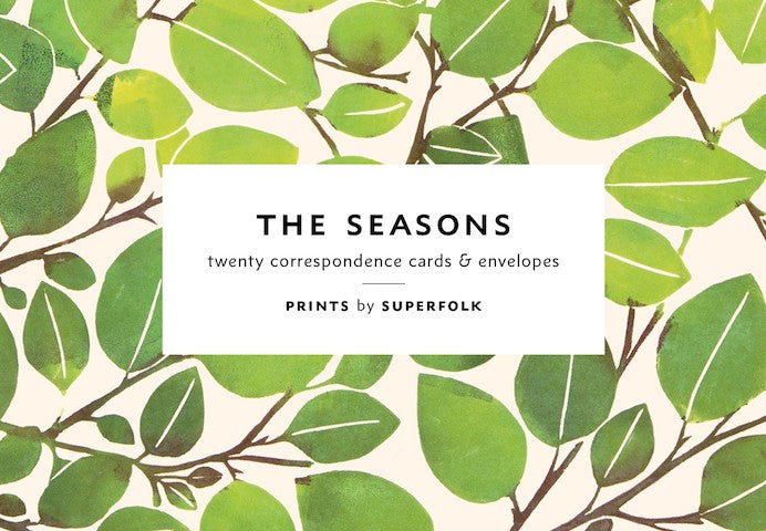 Seasons Note Cards