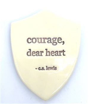 Courage Shield Magnet