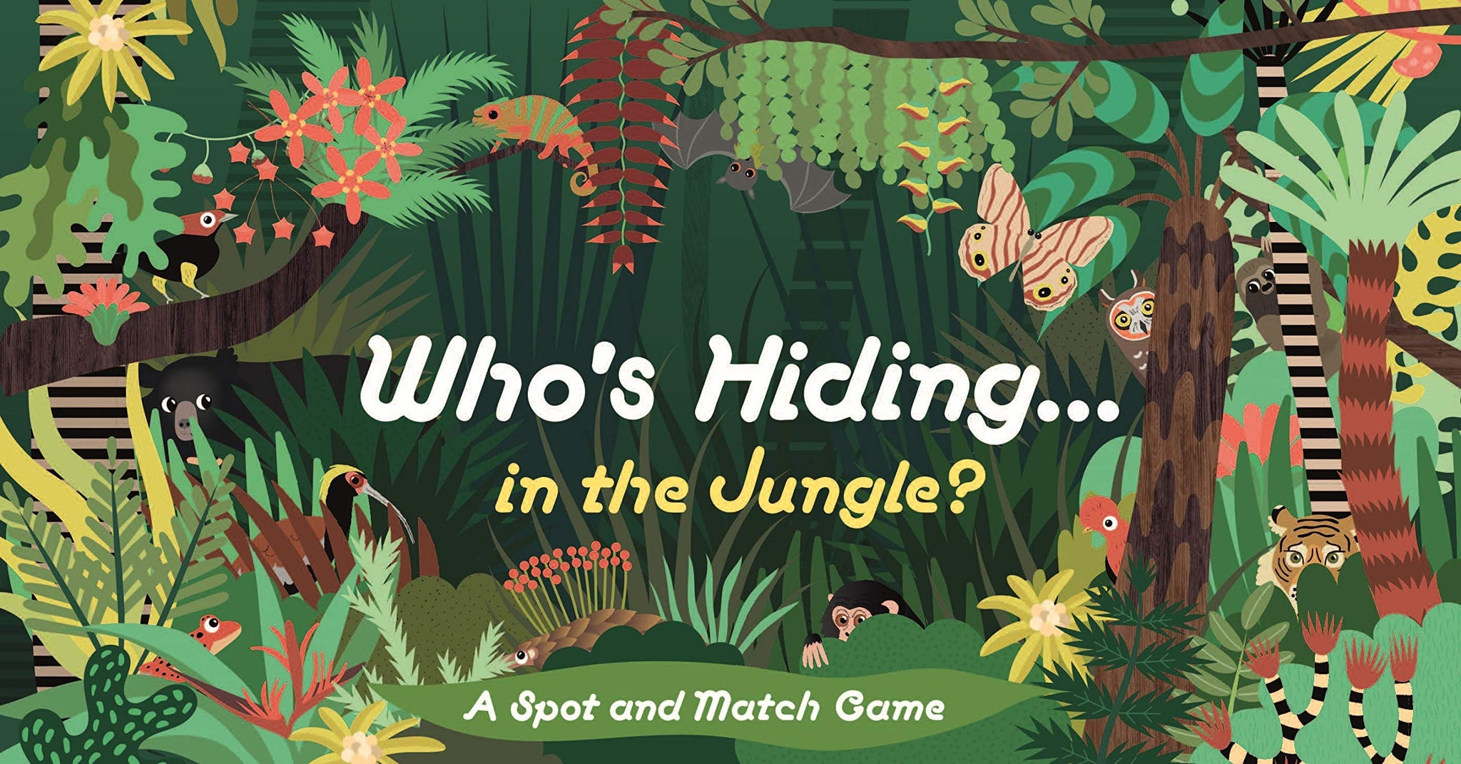 Who's Hiding in the Jungle