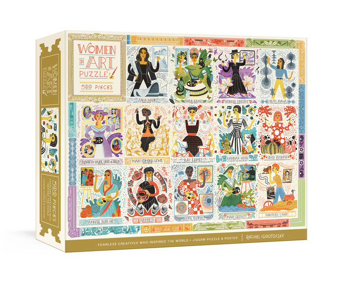 Women in Art Jigsaw Puzzle