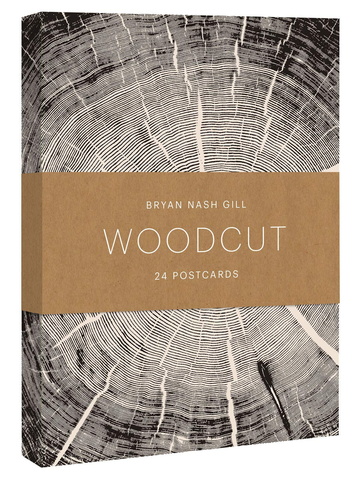 Woodcut Postcard Packet