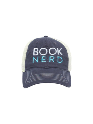 Book Nerd Trucker Cap