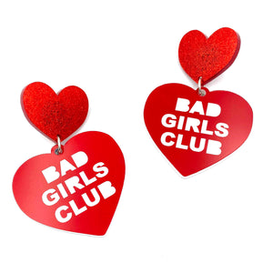 Bad Girls Club Large Earrings