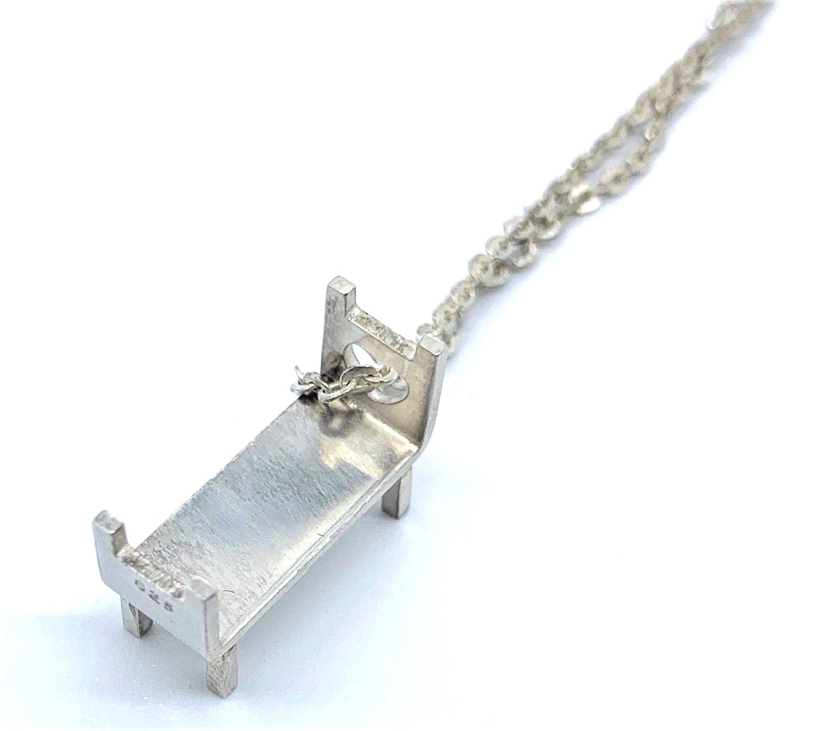 Single Bed Necklace