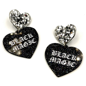 Black Magic Earrings