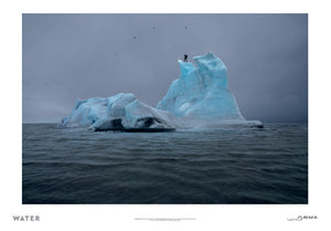 The Blue Fossil Entropic Stories Print - Julian Charrière