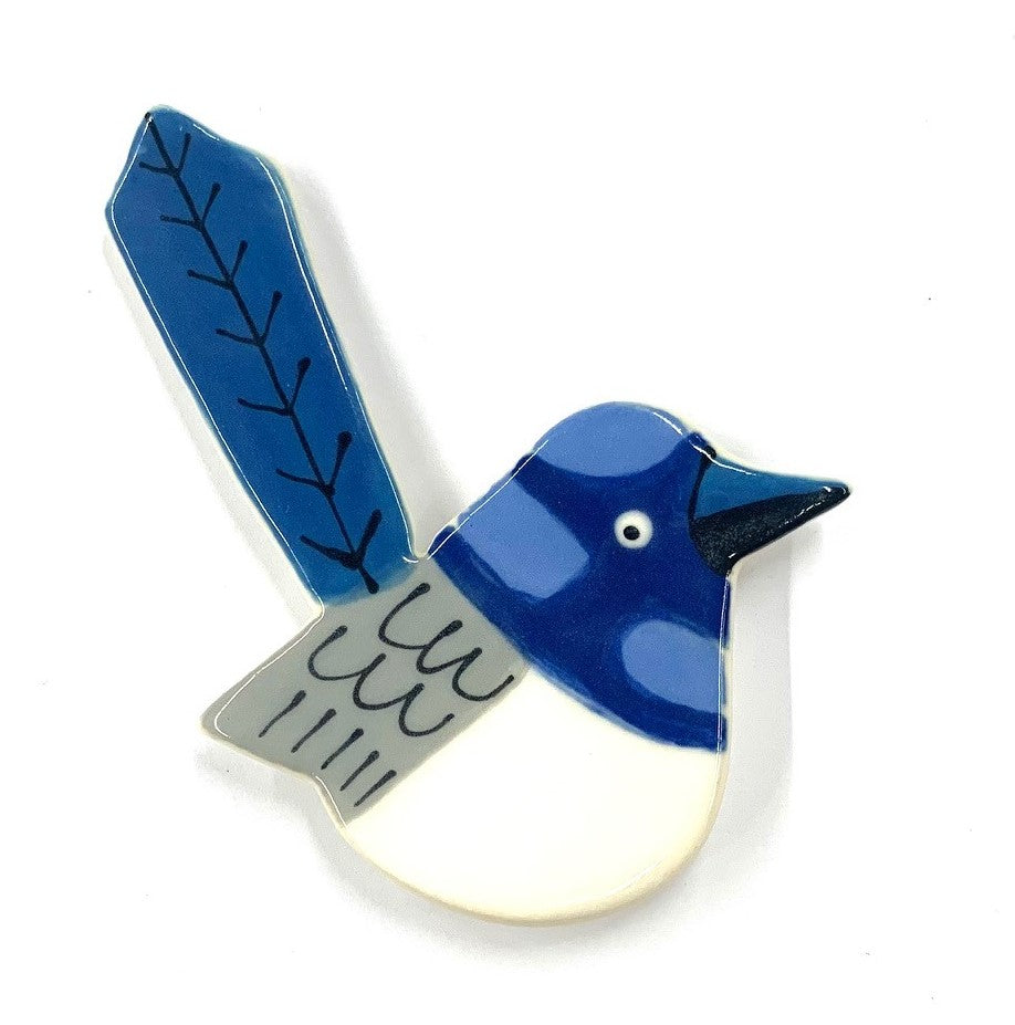 Fairy Wren Brooch