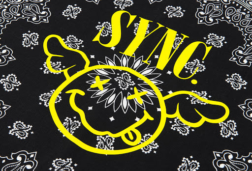 Flying Smile Bandana - D*Face x Sync.