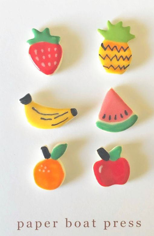 Fruit Salad Earring Set