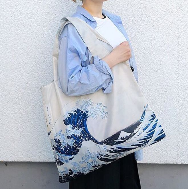 The Great Wave Shopping Bag