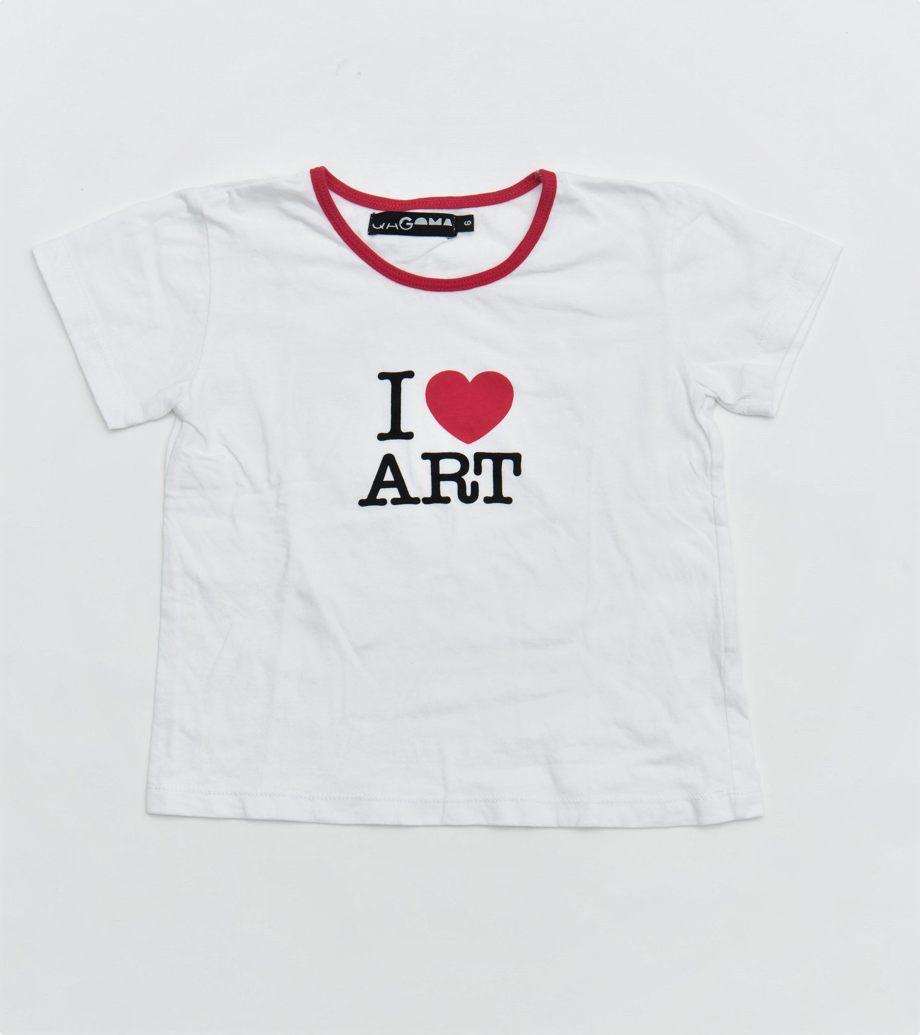 I Heart Art Kids Tshirt