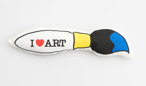 I Heart Art Rattle