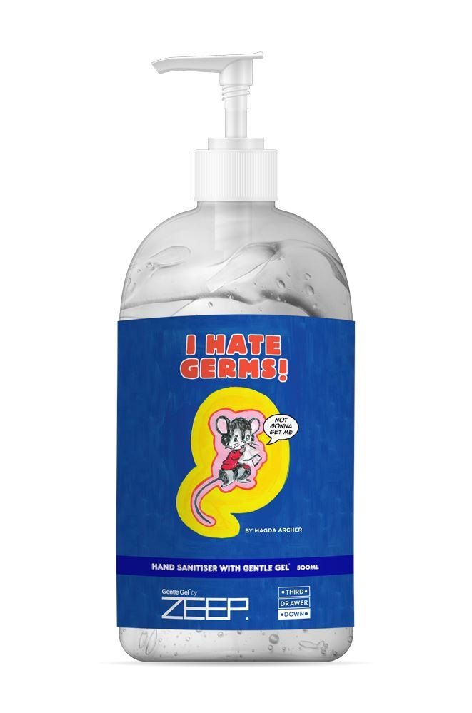 I Hate Germs Hand Sanitiser 500ml - Magda Archer