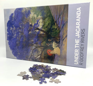 Under the Jacaranda Jigsaw Puzzle