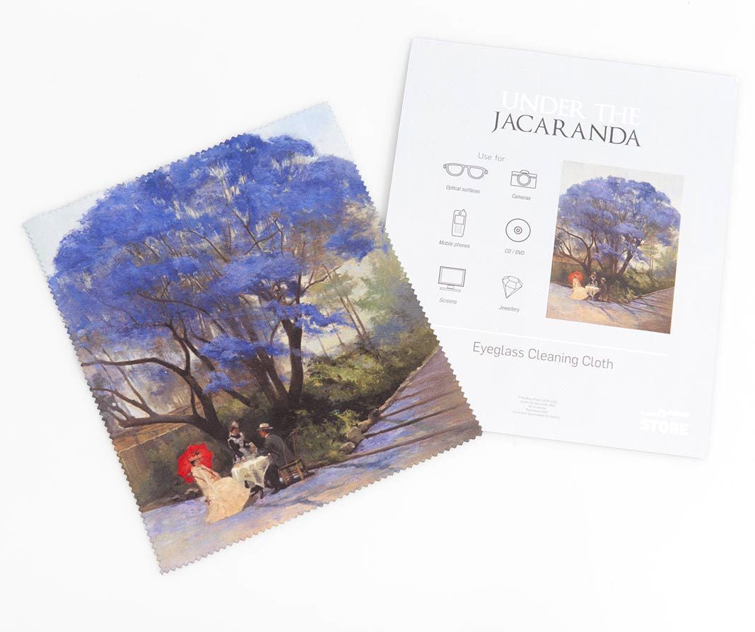 Under the Jacaranda Lens Cleaning Cloth