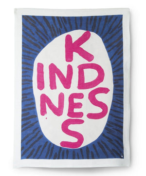 Kindness Tea Towel - David Shrigley