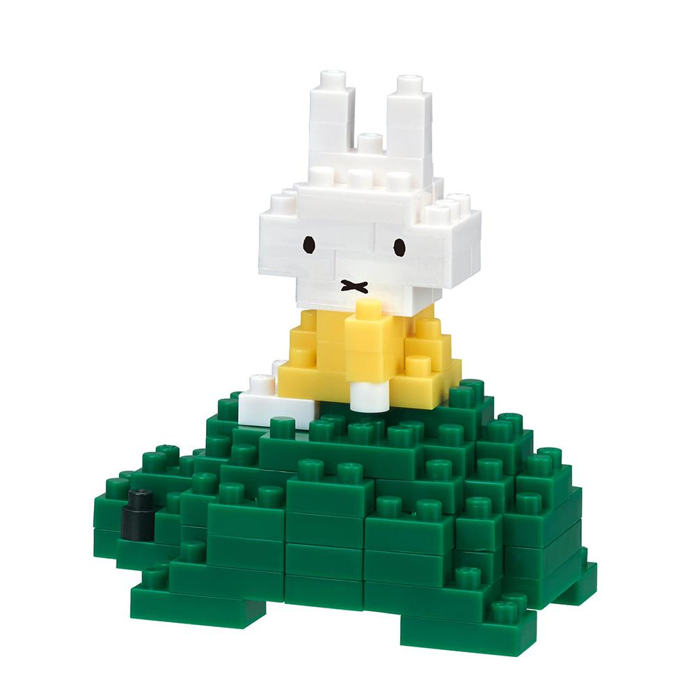 Miffy on a Tortoise Nanoblock