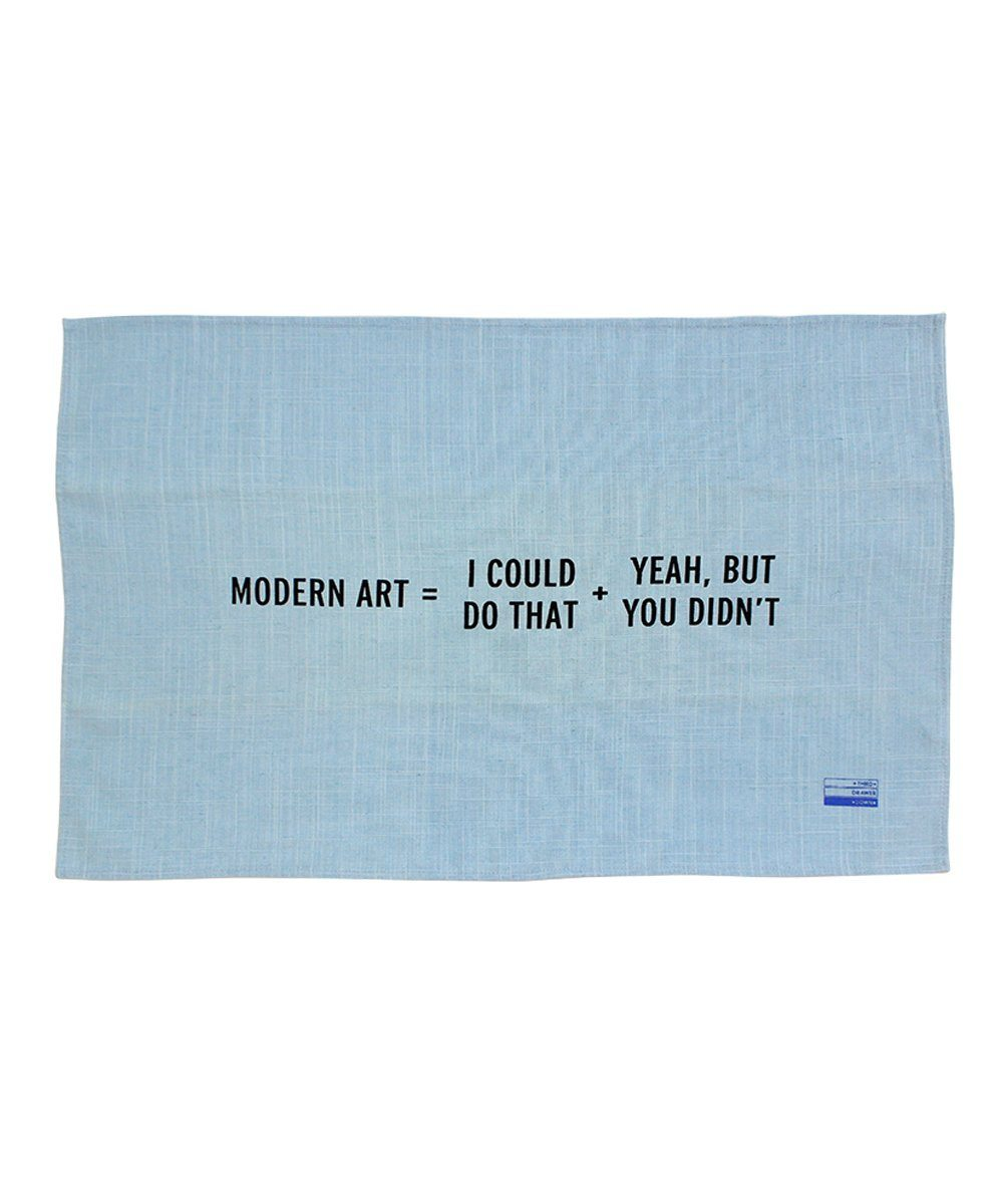 Modern Art Tea Towel - Craig Damrauer