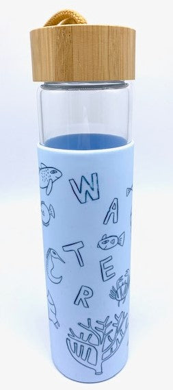 Mok x Water Bottle 650ml Blue
