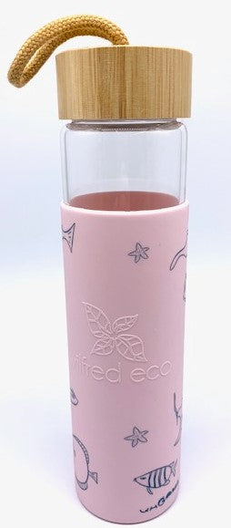 Mok x Water Bottle 650ml Pink