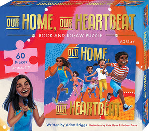 Our Home Our Heartbeat: Book and Jigsaw Puzzle