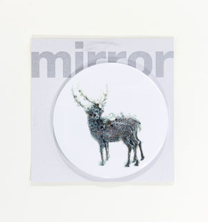 Pixcell Double Deer Pocket Mirror