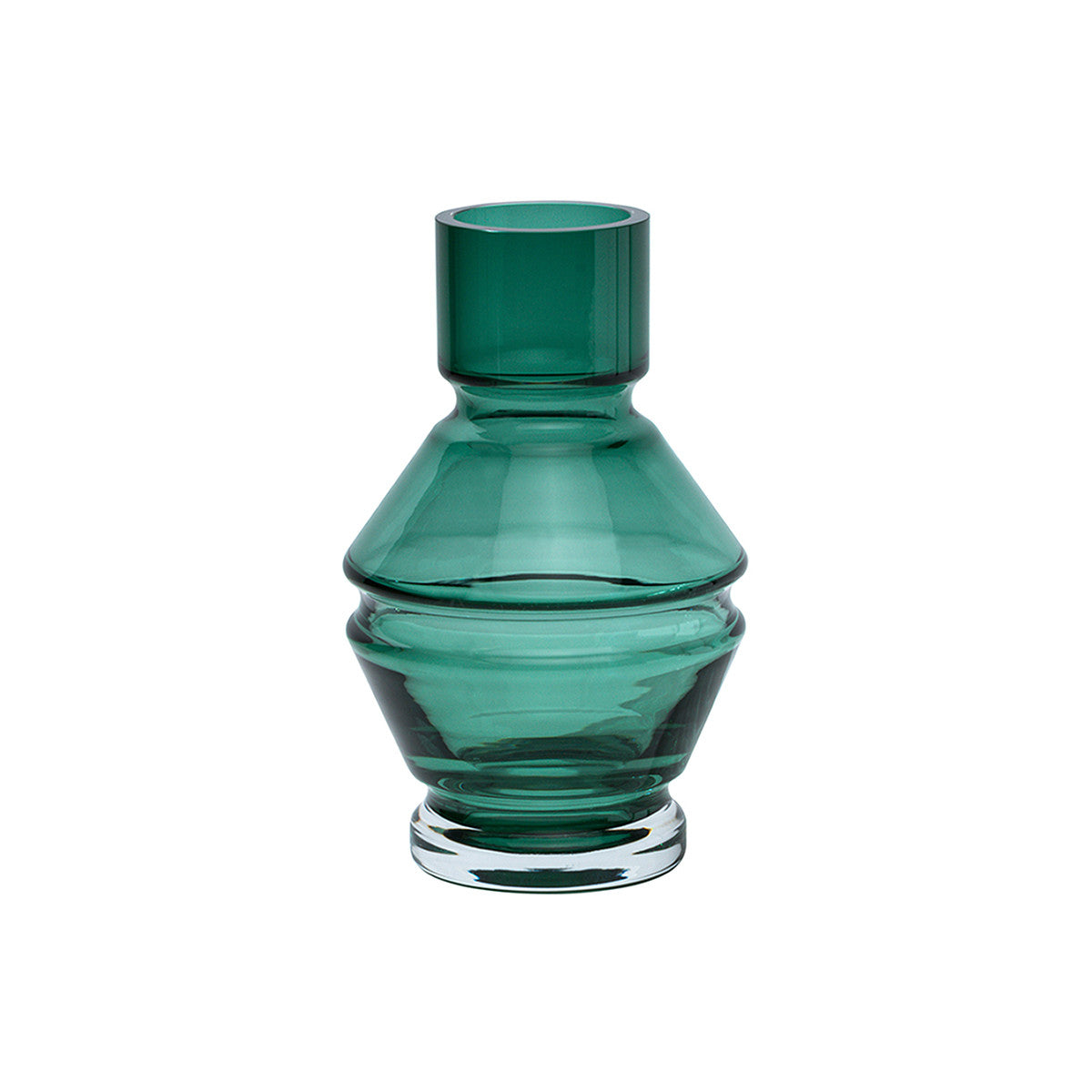 Raawii Green Glass Vase Small Relæ