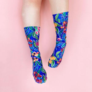 Rainforest Knee High Socks