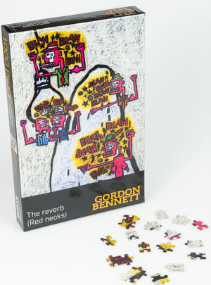 The Reverb (Red necks) Jigsaw Puzzle - Gordon Bennett