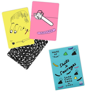 Sh*ts and Sausages Snap Card Game - David Shrigley