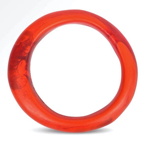 Small Organic Bangle Blood Orange