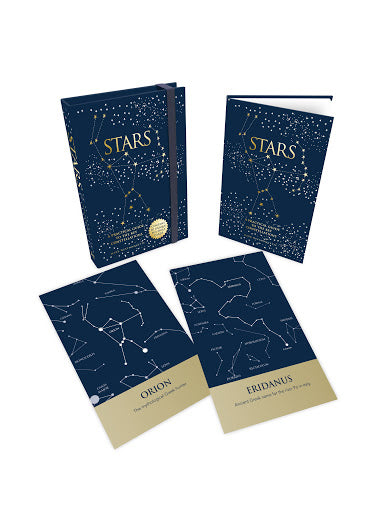 Stars: A Practical Guide to the Key Constellations Book & Card Set