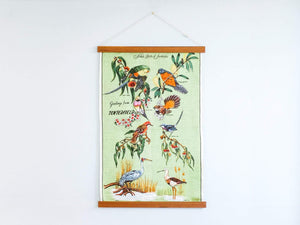 Tea Towel Frame Brunette Reclaimed Hardwood