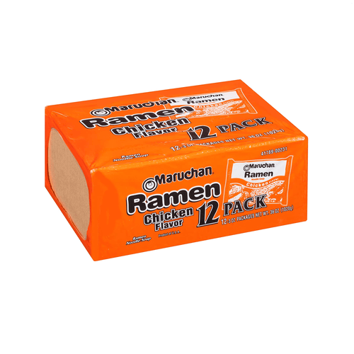 Maruchan Chicken Ramen Flavor Instant Noodle Soup 12 Pack of Bags - Millennial Sales