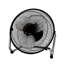 "Load image into Gallery viewer, Mainstays 9"" High Velocity 180 Degree Pivot Metal Blade 3-Speed Fan, Black - Millennial Sales"