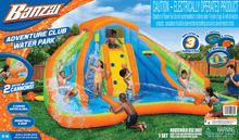 Load image into Gallery viewer, Banzai Adventure Club Inflatable Water Park 15 x 15 x 8 ft Turbo Mega Zone Slip N' Slide - Millennial Sales