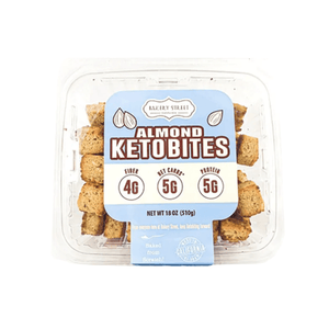 Almond Keto Bites Low Carb Snacks from Bakery Street California - Millennial Sales