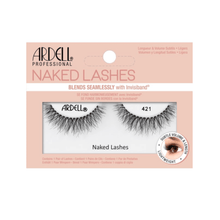 Load image into Gallery viewer, Ardell Professional Fake Eyelashes Wispies Naked Lashes 421, Black 1 Pair - Millennial Sales