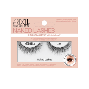 Ardell Professional Fake Eyelashes Wispies Naked Lashes 421, Black 1 Pair - Millennial Sales