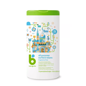 Babyganics All Purpose Surface Wipes - 75ct - Millennial Sales