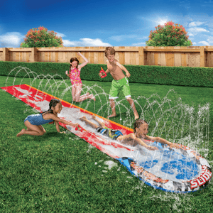 Banzai Turbo Speed Racing Slip And Slide w/ Slick Tech Solution - Millennial Sales