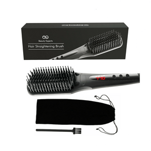 Electric Ceramic Quick Heated Hair Straightener Comb 450w Heat - Millennial Sales