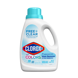 Clorox 2 Laundry Detergent Free & Clear Stain Remover & Color Brightener 66 Ounces - Millennial Sales