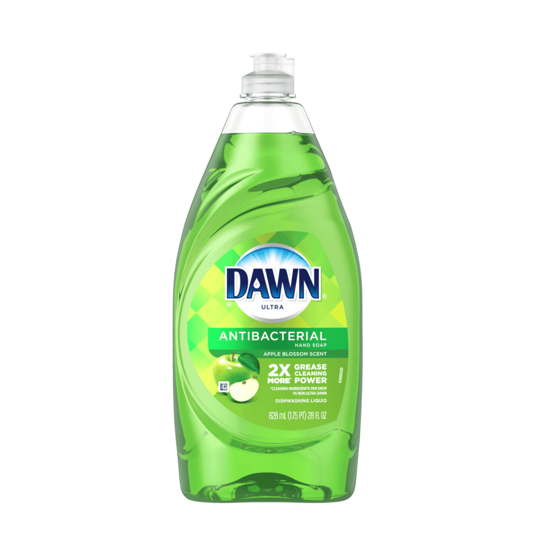 Dawn Ultra Antibacterial Liquid Dish Soap, Apple Blossom, 28 fl oz - Millennial Sales