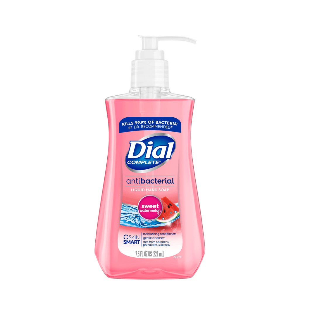 Dial Antibacterial Liquid Hand Soap, Sweet Watermelon, 7.5 Ounce - Millennial Sales